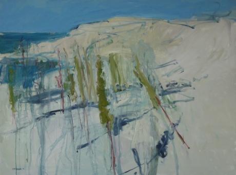 Island dunes 36 x 48in