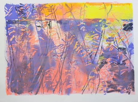 outback sunset 56 x 76cm