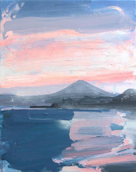 Mount Fuji sea