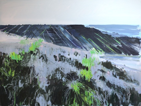 Burren rocks 36 x 48in
