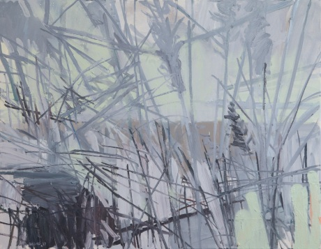 winter grasses 28 x 36in