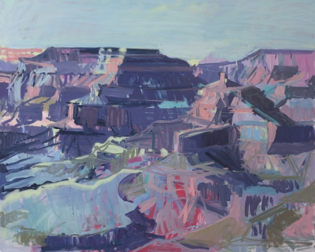 Dusk Canyon 47 x 59in