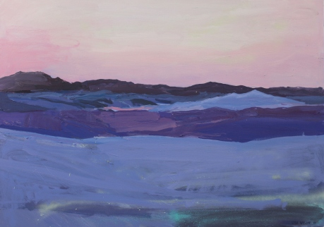 Purple White Sands 27 x 39