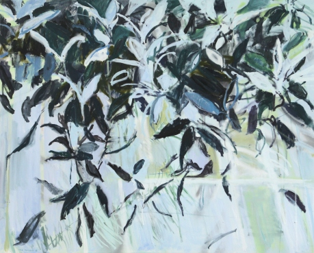 Pale and purple leaves (sold)