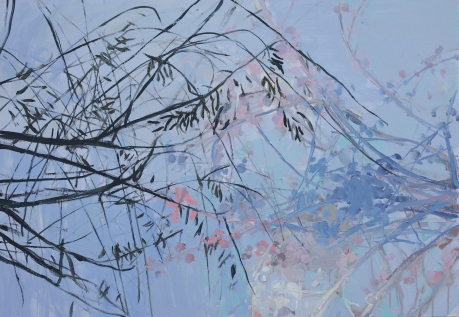Blue sky branches 27 x 39in. 68 x 100cm