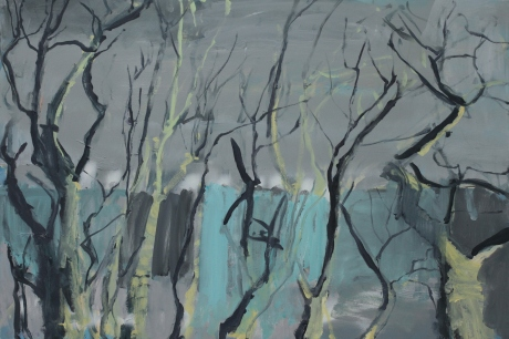 Light on trees 24 x 36in. 61x 91cm