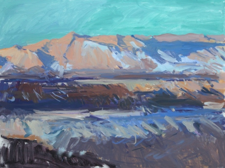 Mountain Anza Borrego 36x48in